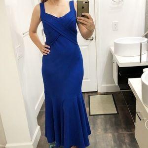 NWT Candalite long blue formal dress size Medium